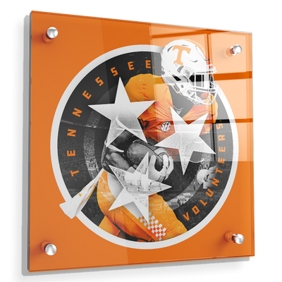 Tennessee Volunteers - Tri Star 2018 Orange - College Wall Art #Acrylic