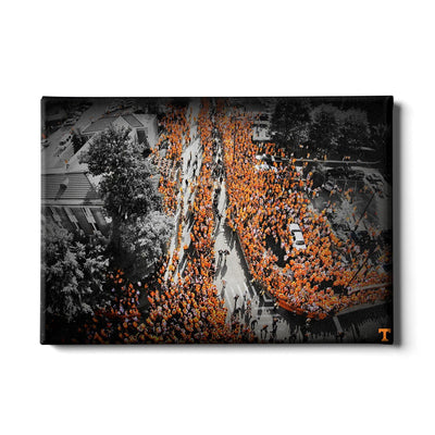 Tennessee Volunteers - Vol Walk - College Wall Art #Canvas