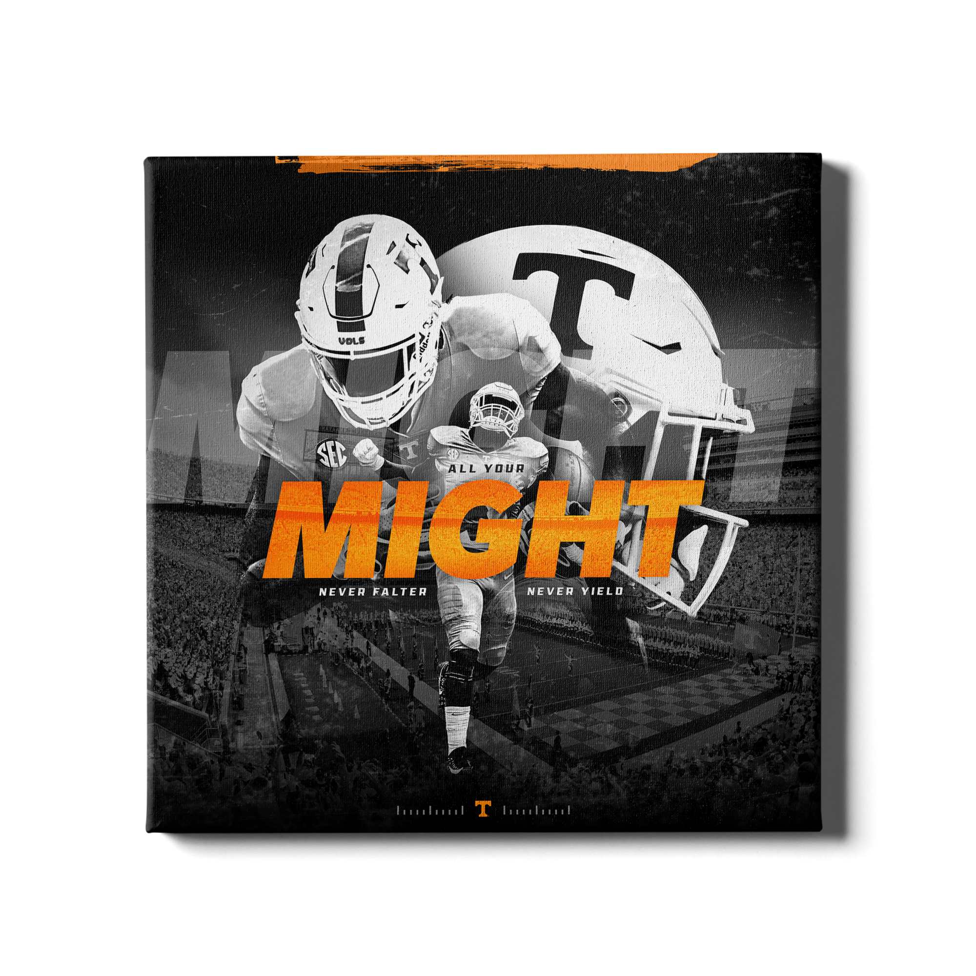 Tennessee Volunteers - Might - College Wall Art #Canvas