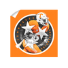 Tennessee Volunteers - Tri Star 2018 Orange - College Wall Art #Wall Decal
