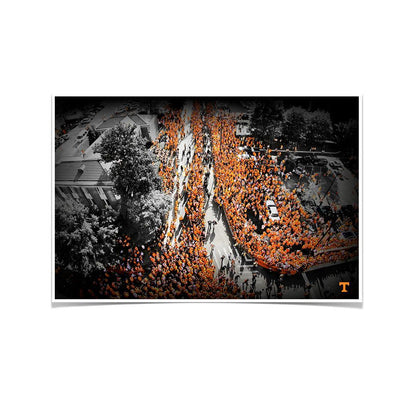 Tennessee Volunteers - Vol Walk - College Wall Art #Poster