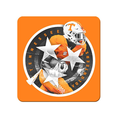 Tennessee Volunteers - Tri Star 2018 Orange - College Wall Art #PVC