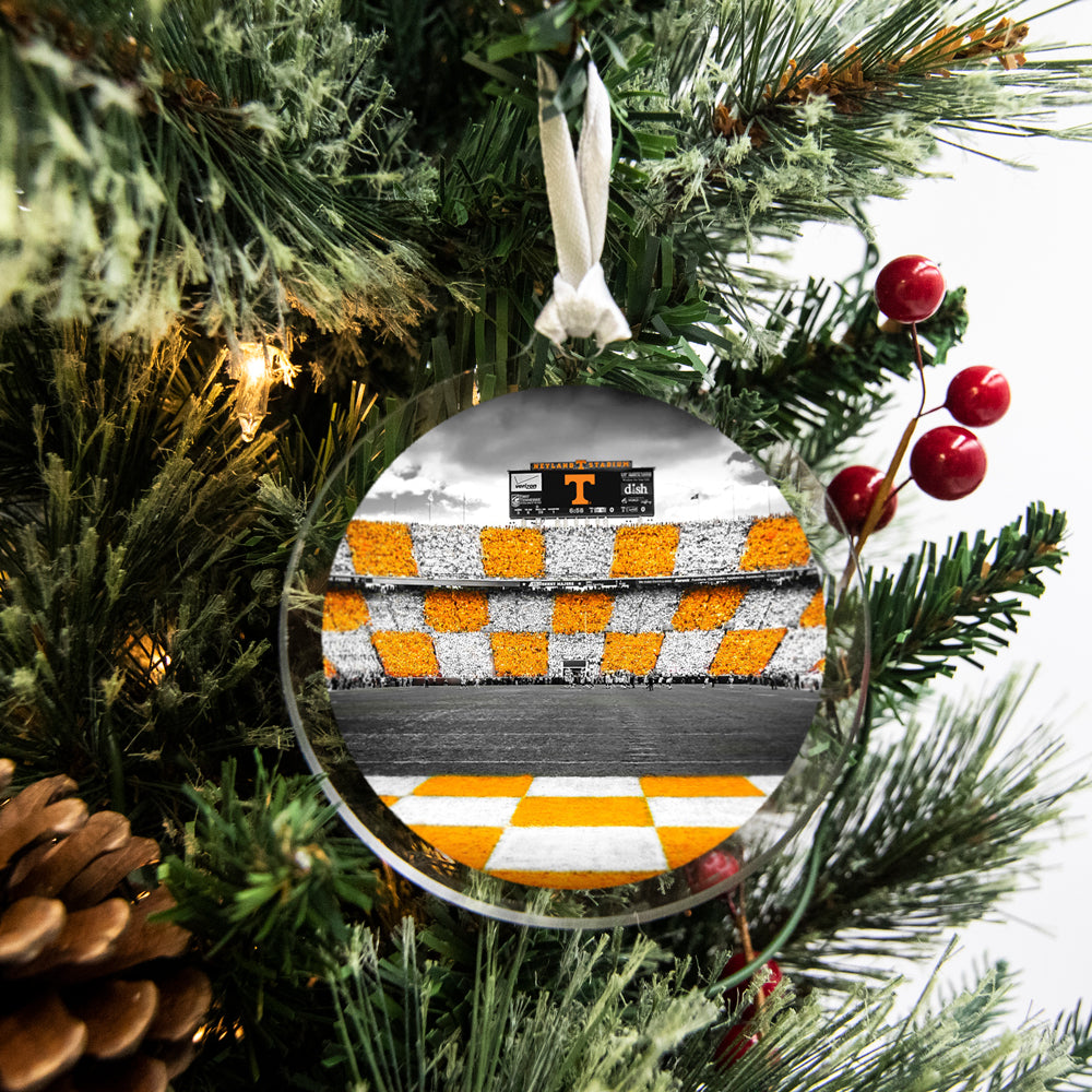 Tennessee Volunteers - Checkerboard Neyland #Bag Tag