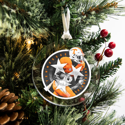 Tennessee Volunteers - Tri Star Volunteer #Bag Tag