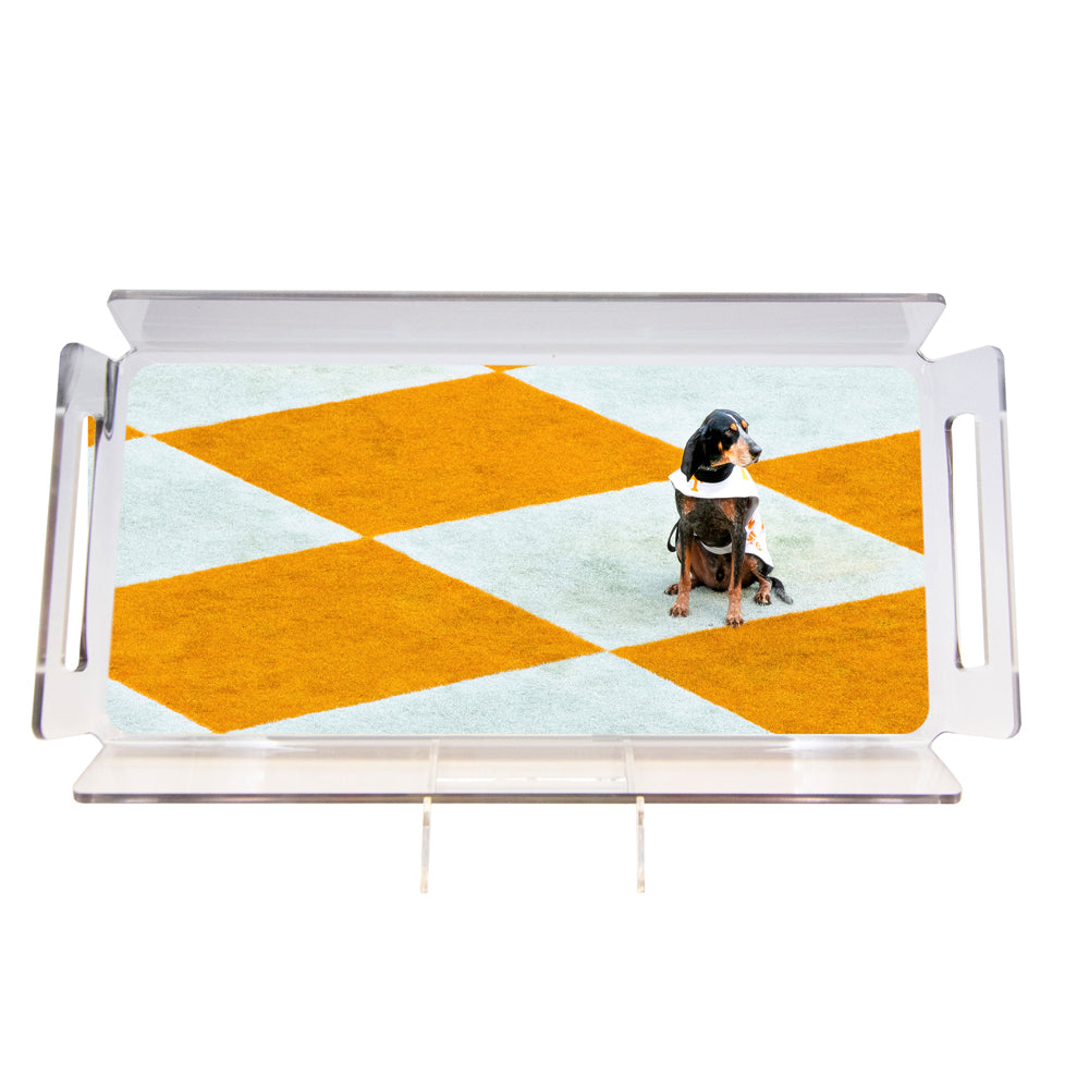 Tennessee Volunteers - Checkerboard Smokey #Tray