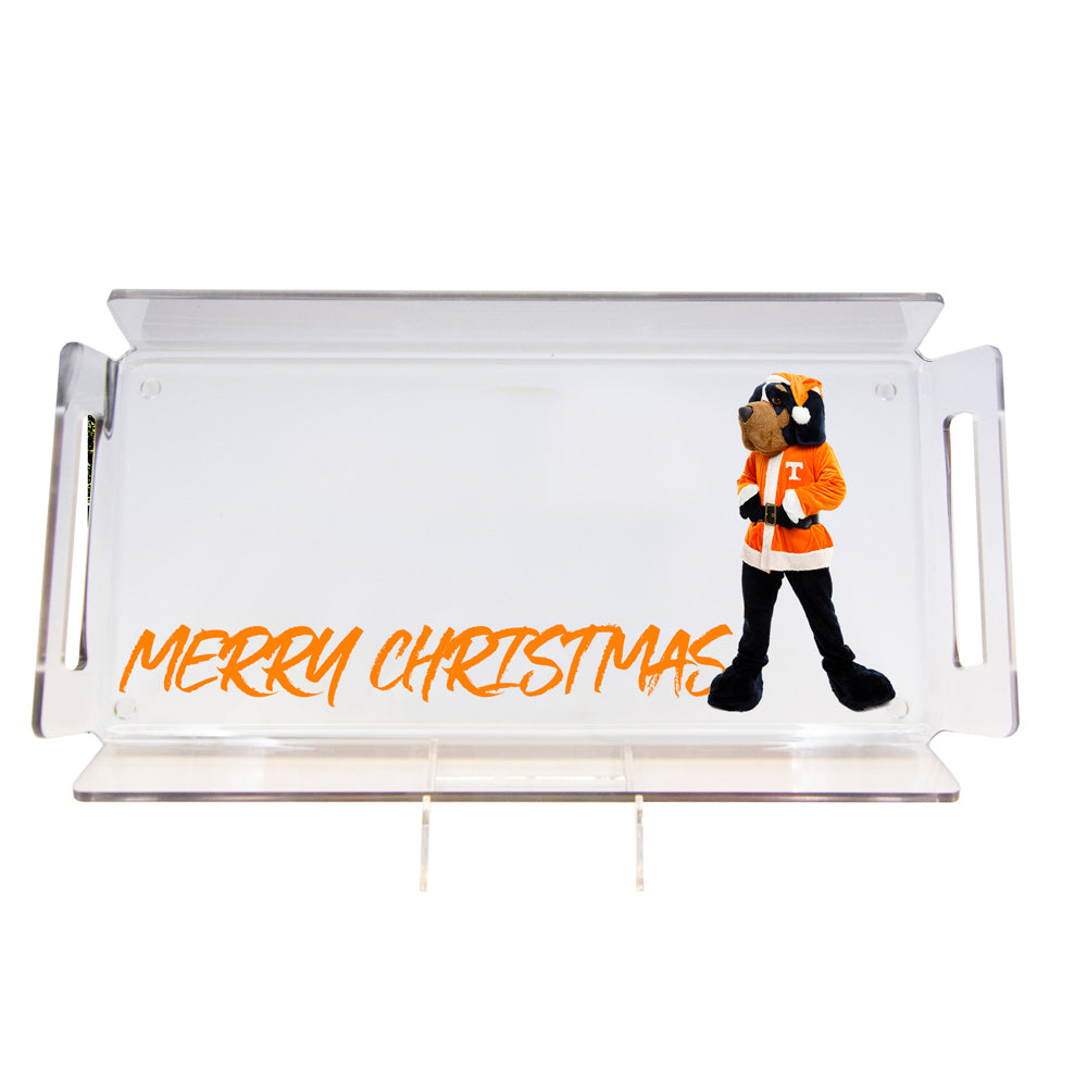 Tennessee Volunteers -  Merry Christmas Smokey #Tray