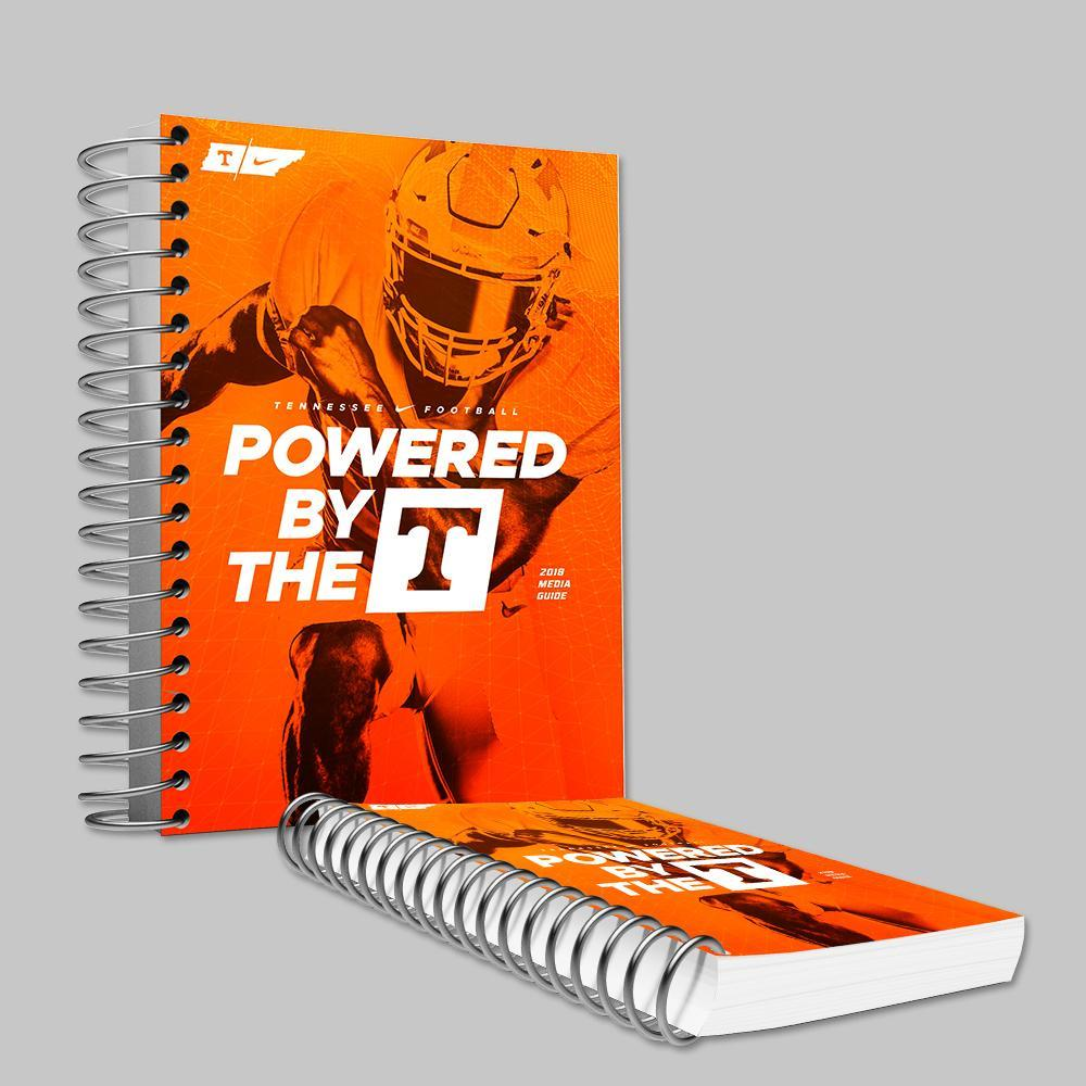 Tennessee Volunteers - 2018 University of Tennessee Football Media Guide - College Wall Art #Media Guide