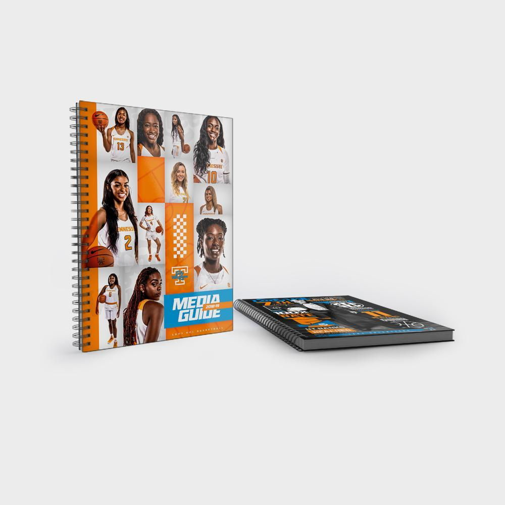 Tennessee Volunteers - 2018-19 Women's Basketball Media Guide - College Wall Art #Hanging Canvas