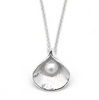 Single Calla Pearl Necklace