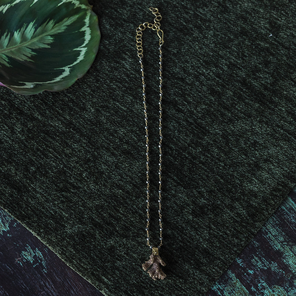 Natura Necklaces - Coral
