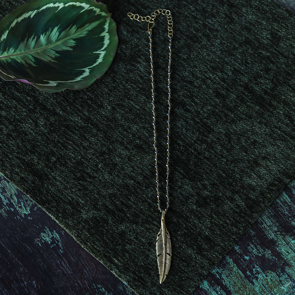 Natura Necklaces - Feather