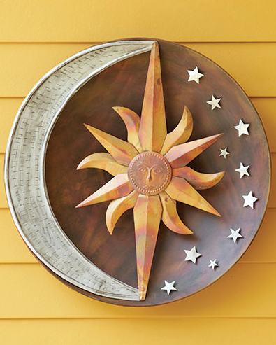 Beautiful Celestial Wall Disc