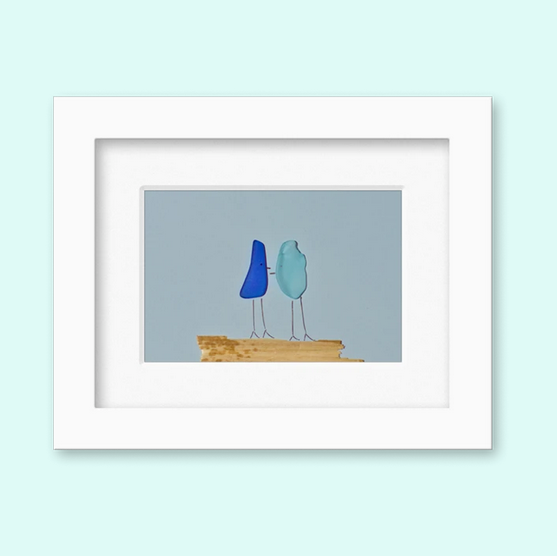 Maine Seaglass Frames