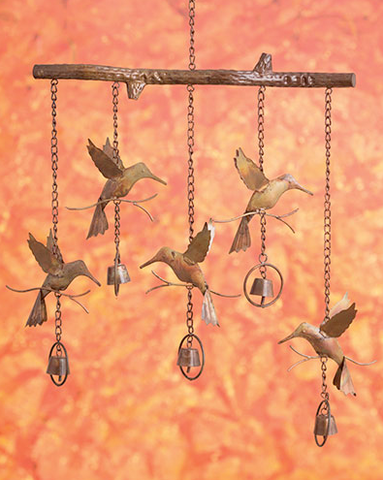 Hummingbird Wind Chime