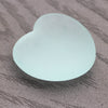 'Sea Glass' Heart Stone