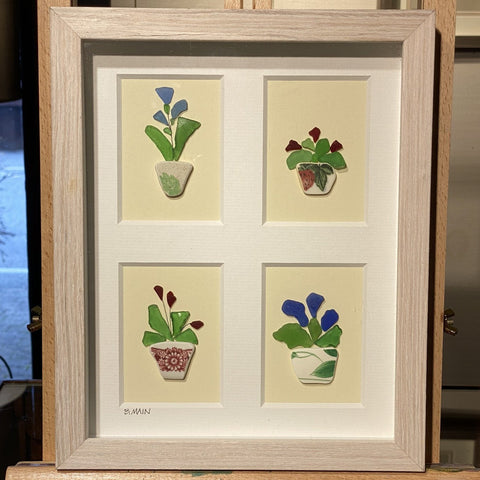 8x10 Framed Houseplants