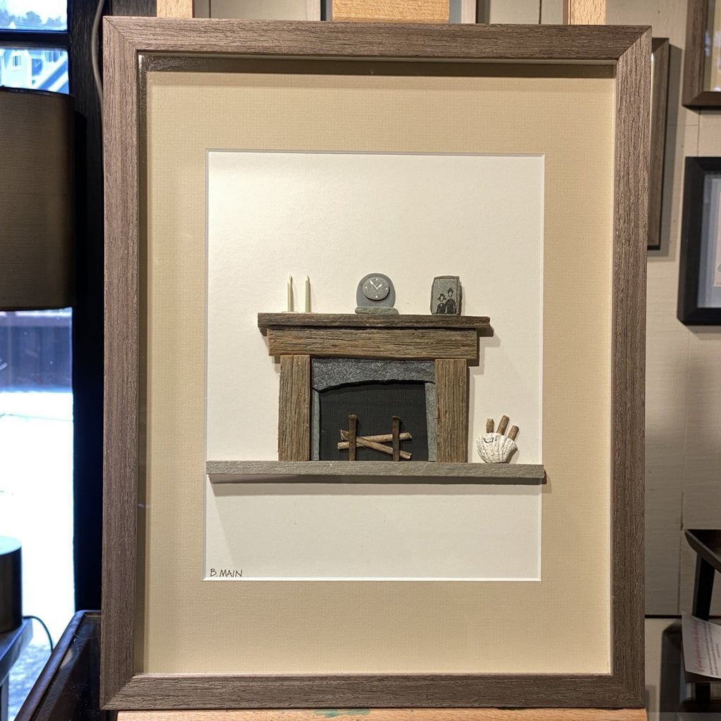 11x14 Home by the Fireplace