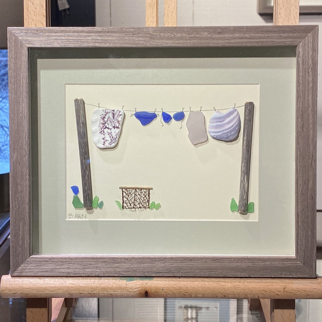 8x10 Out to Dry w/ Laundry Basket