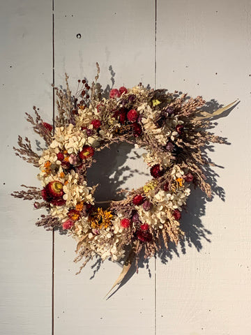 Dried Flower Wreaths