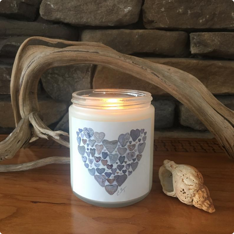 Love Rocks Me Candles