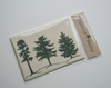 Organic Cotton Pine Tree Forest Handkerchief