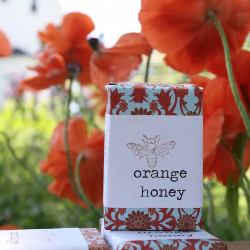 4oz Orange-Honey Soap