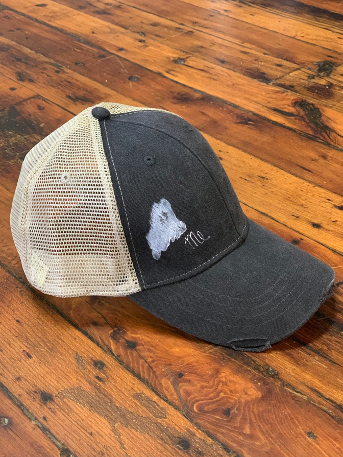 Maine Trucker Hat (Unisex)