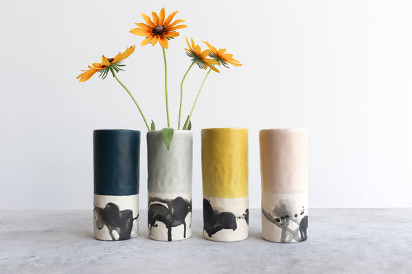 Benotti Tall Vase (Four Colors)
