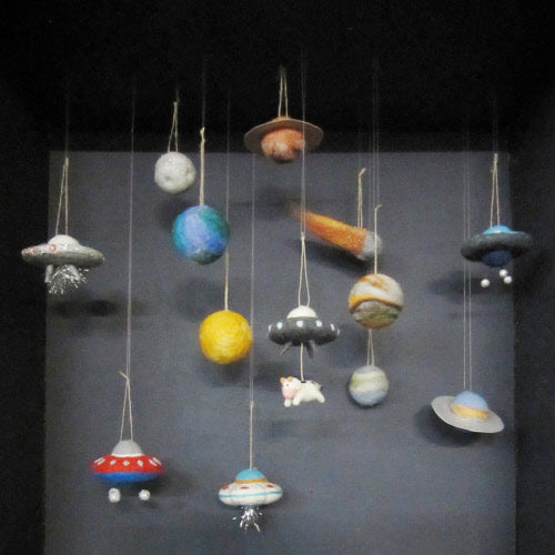 Flying Saucer Ornament