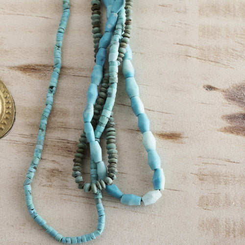 Afghan Turquoise Bead Strand