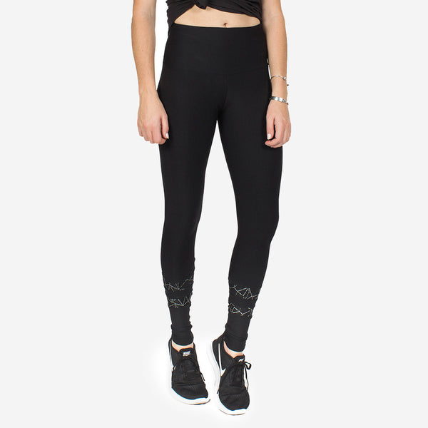 Reflective Anklet Apex Leggings