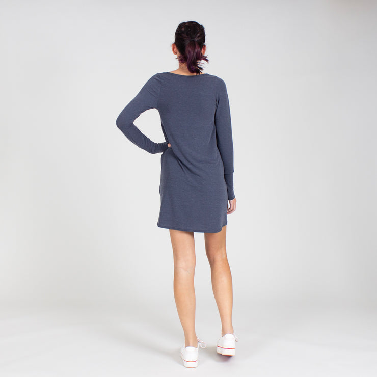 Long Sleeve Free Flow Dress