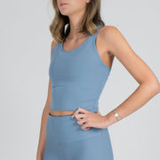 Barely There Infinity Crop Top