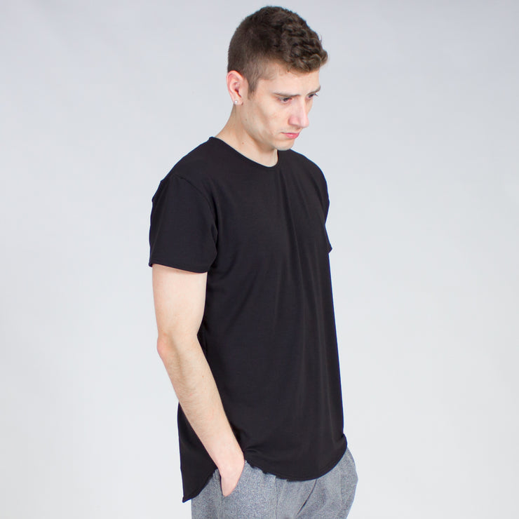 Drop Cut Tencel Tee