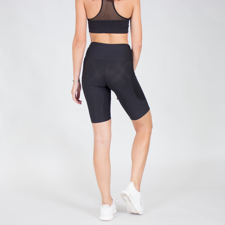 Barely There Biker Mesh Pocket Short