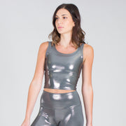 Liquid Infinity Crop Top
