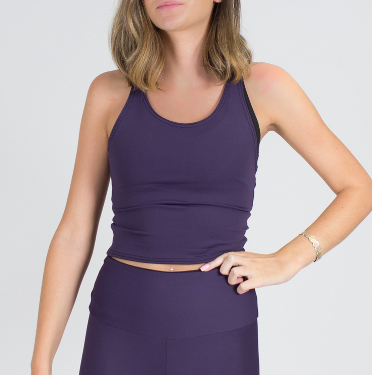 Sample Rack - Barely There Infinity Crop Top - M