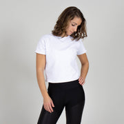 Relaxed Fit Short Sleeve Crop