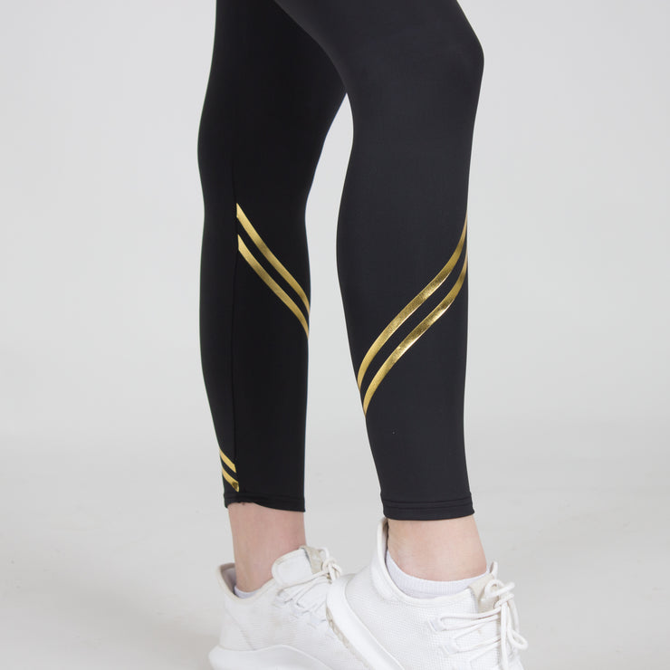 Barely There Metallic Stripe Tight