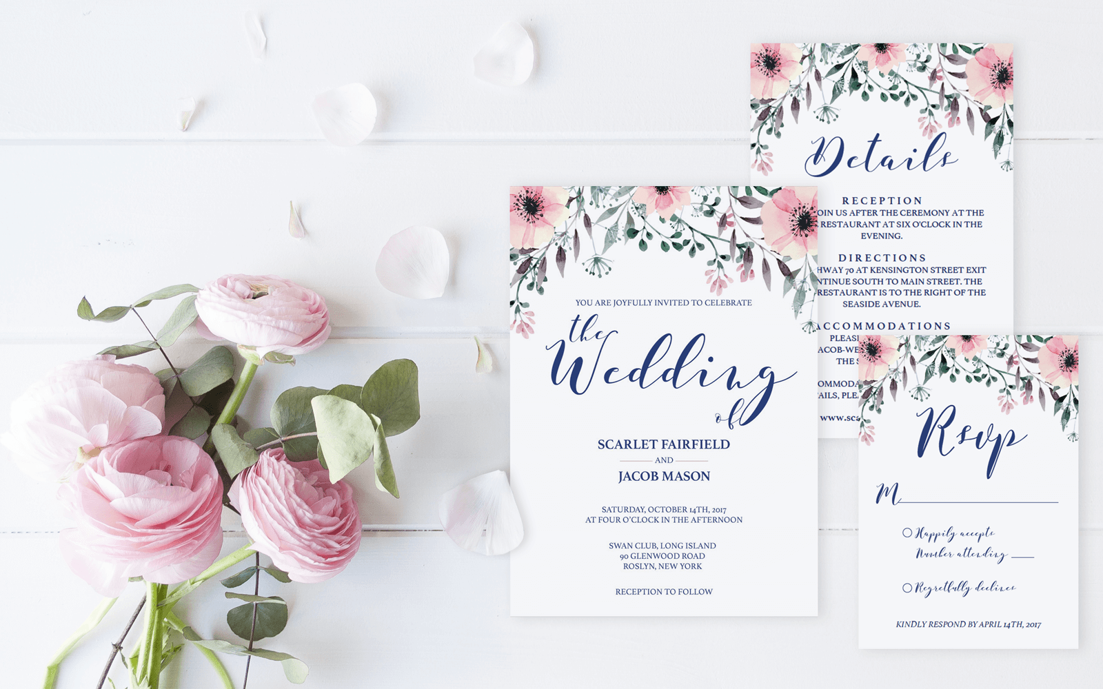 papersizzle unique wedding stationery templates and printables