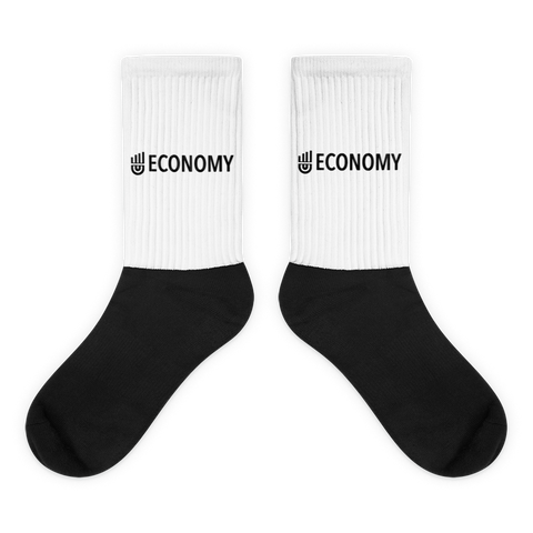 UECONOMY Black foot socks