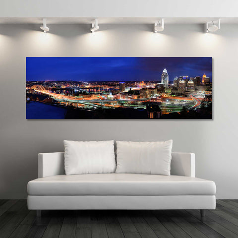 Panoramic View of Cincinnati Skyline