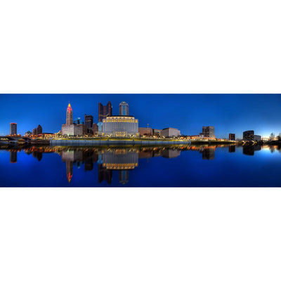 Panoramic View of Columbus Skyline II