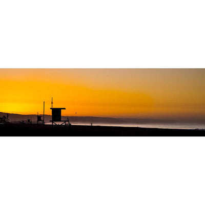 Panoramic View of Newport Beach at Sunrise 2