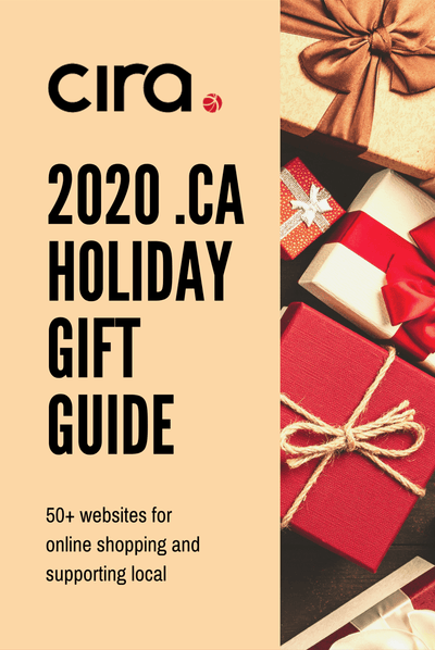 As Seen in CIRA's 2020 .CA Holiday Gift Guide for Pets