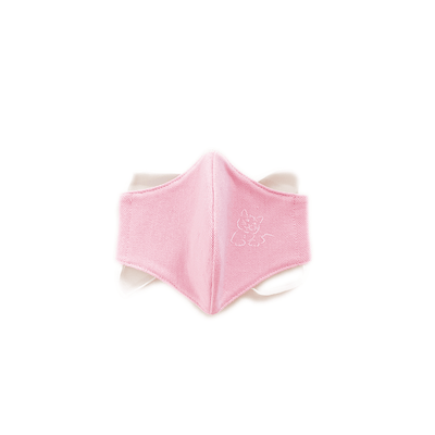 KIDS FABRIC FACE MASK | pink - T.O. Dogswear