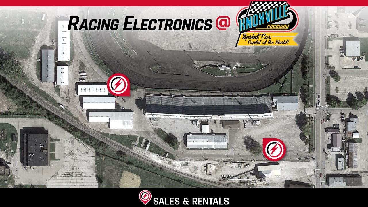 AT THE TRACK – Racing Electronics