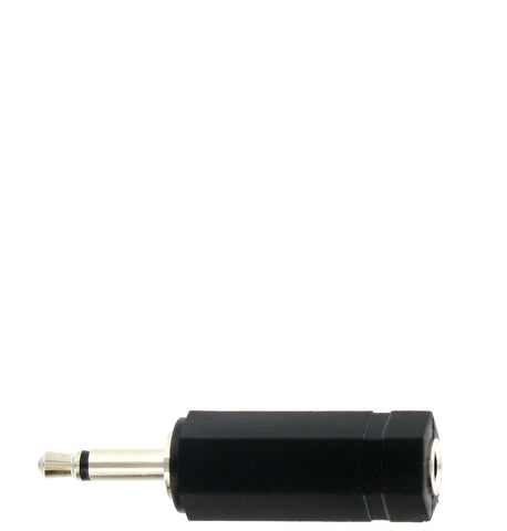 "ADAPTER - 1/8"" FEMALE STEREO TO 1/8"" MALE MONO"