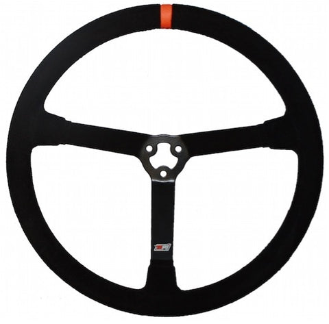 "STEERING WHEEL -  MPI 15"" STEEL OVAL GRIP STOCK CAR"
