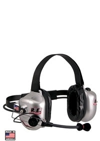 HEADSET - 2WAY ACTIVE NOISE REDUCTION 2 TALK, 1 SCANNER PORT BEHIND THE HEAD